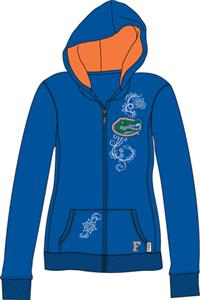 Florida Gators Womens French Terry Zip Hoody