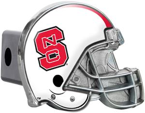 NCAA N.C. State Helmet Trailer Hitch Cover