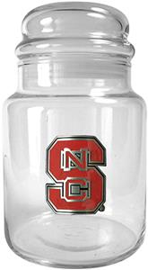 NCAA North Carolina State Wolfpack Glass Candy Jar