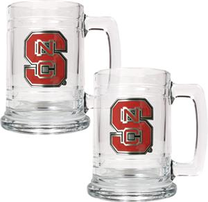 NCAA N.C. State 15oz Glass Tankard