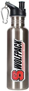 NCAA N.C. State Stainless Water Bottle