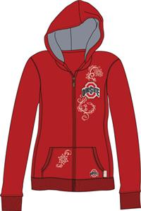 Ohio State Womens French Terry Zip Hoody