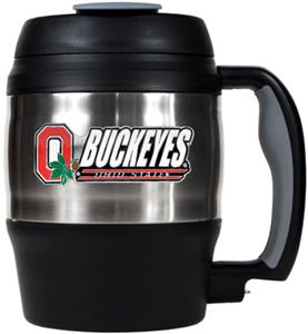 NCAA Ohio State Buckeyes 52oz Macho Travel Mug
