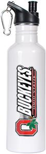 NCAA Ohio State Buckeyes White Water Bottle