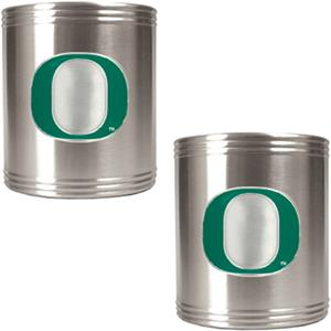NCAA Oregon Ducks Stainless Steel Can Holders