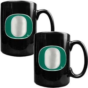 NCAA Oregon Ducks Ceramic Mug (Set of 2)