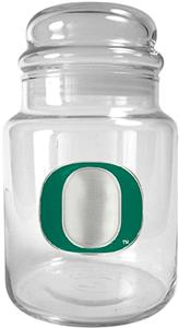 NCAA Oregon Ducks Glass Candy Jar
