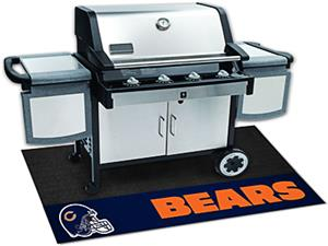Fan Mats Chicago Bears Grill Mat