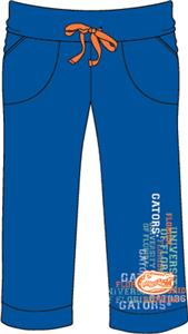 Florida Gators Womens Flocked Drawstring Pants