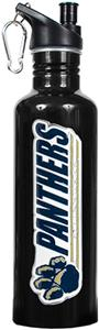 NCAA Pittsburgh Panthers Black Water Bottle