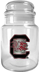 NCAA South Carolina Gamecocks Glass Candy Jar