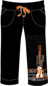 Oklahoma State Womens Flocked Drawstring Pants