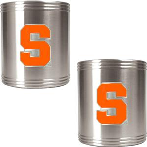 NCAA Syracuse Orange Stainless Steel Can Holders