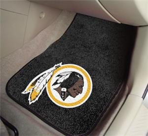 Fan Mats Washington Redskins Carpet Car Mats