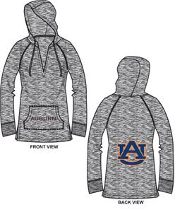 Auburn Tigers Womens Burnout Pullover Hoody