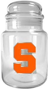 NCAA Syracuse Orange Glass Candy Jar