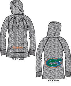 Florida Gators Womens Burnout Pullover Hoody