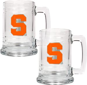 NCAA Syracuse Orange 15oz Glass Tankard