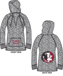 Florida State Womens Burnout Pullover Hoody
