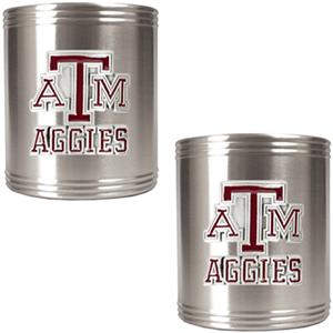 NCAA Texas A&M Aggies Stainless Steel Can Holders