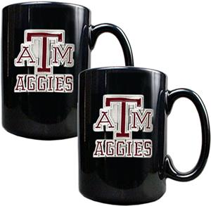 NCAA Texas A&M Aggies Ceramic Mug (Set of 2)