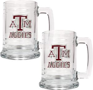 NCAA Texas A&M Aggies 15oz Glass Tankard