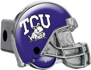 NCAA Texas Christian Helmet Trailer Hitch Cover