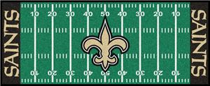 Fan Mats New Orleans Saints Football Runner