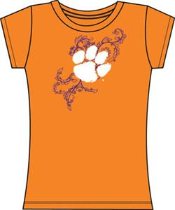 Emerson Street Clemson Tigers Womens Slub Tee