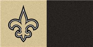 Fan Mats NFL New Orleans Saints Carpet Tiles