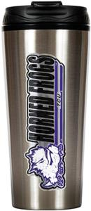 NCAA Texas Christian 16oz Travel Tumbler