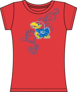 Emerson Street Kansas Jayhawks Womens Slub Tee