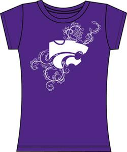 Emerson Street Kansas State Womens Slub Tee