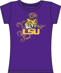 Emerson Street LSU Tigers Womens Slub Tee