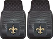 Fan Mats New Orleans Saints Vinyl Car Mats (set)