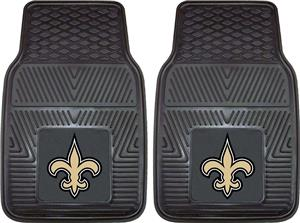 Fan Mats New Orleans Saints Vinyl Car Mats