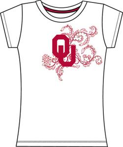 Emerson Street Oklahoma Sooners Womens Slub Tee