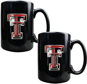 NCAA Texas Tech Red Raiders Ceramic Mug (Set of 2)
