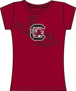 Emerson Street South Carolina Womens Slub Tee