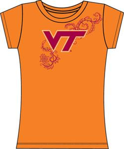 Emerson Street Virginia Tech Womens Slub Tee