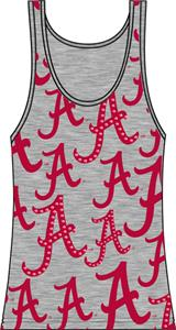 Emerson Street Alabama Womens Rhinestone Tank Top