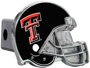 NCAA Texas Tech Helmet Trailer Hitch Cover