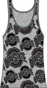 Ohio State Womens Rhinestone Tank Top