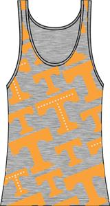 Tennessee Vols Womens Rhinestone Tank Top
