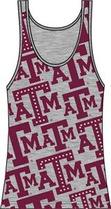 Texas A&amp;M Aggies Womens Rhinestone Tank Top