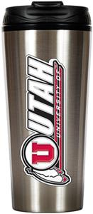 NCAA Utah Utes 16oz Travel Tumbler