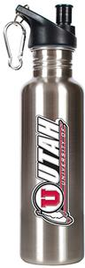 NCAA Utah Utes Stainless Water Bottle