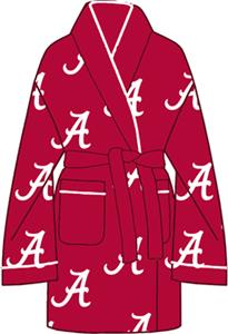 Alabama University Womens Fleece Bath Robe