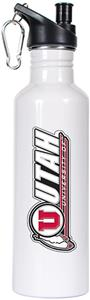 NCAA Utah Utes White Water Bottle