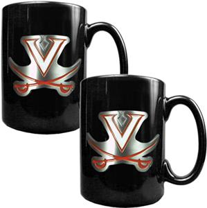 NCAA Virginia Cavaliers Ceramic Mug (Set of 2)